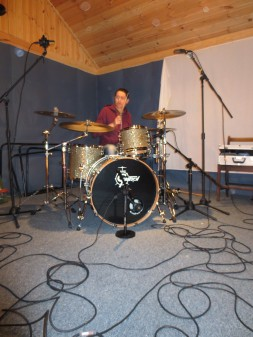 Recording Session - Hidden Valley Studios - North Wales