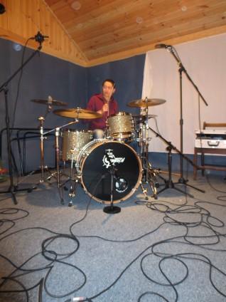 Recording Session - Hidden Valley Studios - North Wales